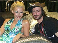 Kylie And Aaron Sillis At Swimwear Launch In Shanghai
