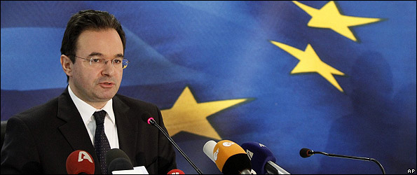 Greek Finance Minister, George Papaconstantinou, 2 May 10