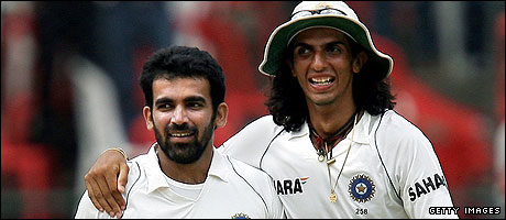 Zaheer Khan and Ishant Sharma are a formidable double act