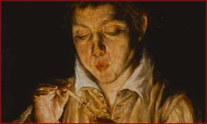 The exhibition brings together some of El Grecou0027s finest paintings and portraits such as A Boy blowing on an Ember to light a Candle (above)  sc 1 st  BBC & BBC - London - Entertainment - Galleries - The Genius of El Greco ... azcodes.com