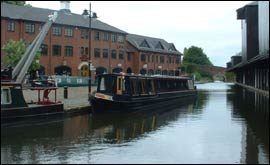 View of Coventry Canal Basin