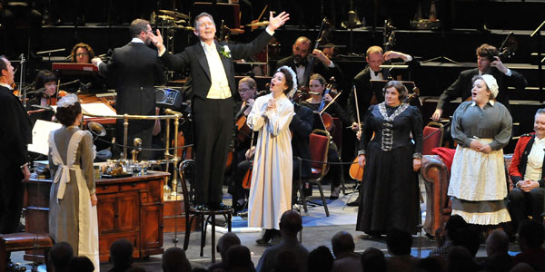 A scene from My Fair Lady at the Proms