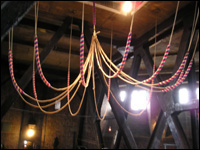 Bell rope chandelier
