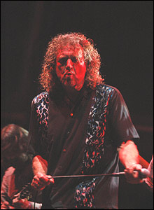 Robert Plant at WOMAD 2005 - pic Alex Flahive