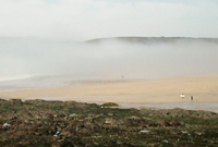 Sea Fog @ Freshwater West - Adam Pitters