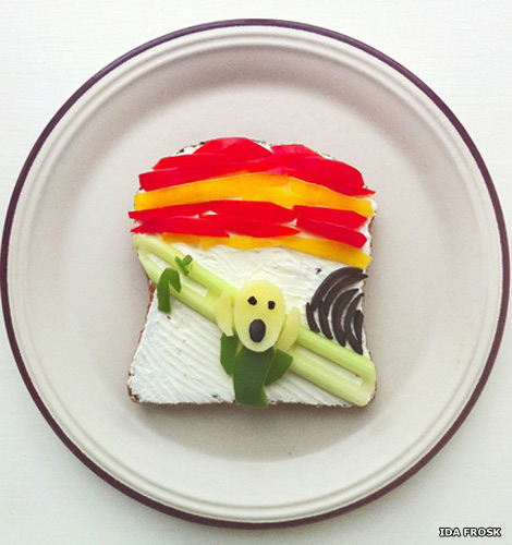 The Art Toast Project presents: Munch (The Scream)