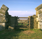 Mile castles on Hadrian's Wall had gateways, where soldiers could check who was coming and going.