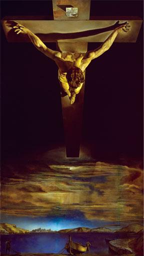 Salvador Dalí, Christ of St. John of the Cross, 1951.