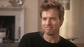 ewan mcgregor being interviewed