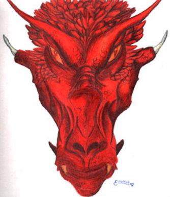 bbc blast art design dragon head