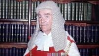 Lord Chief Justice Lord Widgery who headed the inquiry into the Bloody Sunday shootings