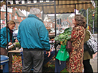 Moseley Farmer's Market