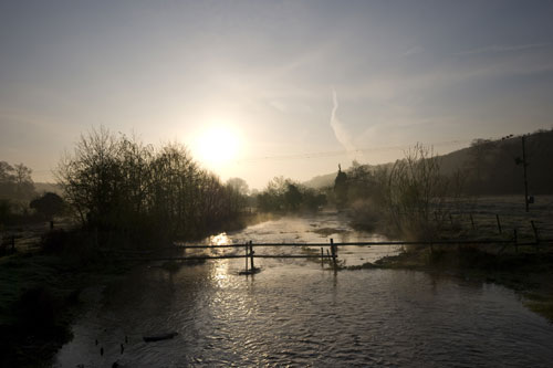River view at Dawn © Matt Wiseman from the BBC Springwatch Flickr Group