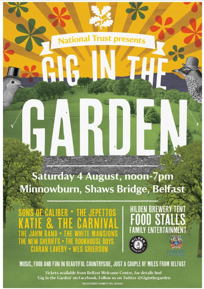 Gig in the Garden POster