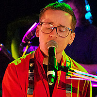Hot Chip perform at Maida Vale studios