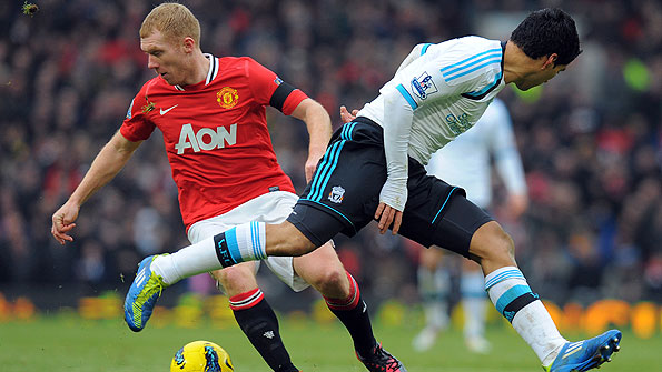 Scholes has been close to his best since returning to play for Manchester United