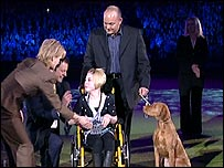 Harriet and Yepa at Crufts 2008