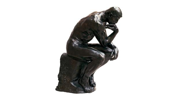 bbc a history of the world object the thinker by auguste rodin