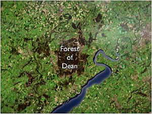 Forest of Dean map