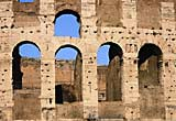 Photograph of the arches on Colosseum
