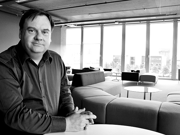 Jeff Zycinski at BBC Scotland, Pacific Quay, May 2010