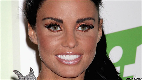 Katie Price formerly known as Jordan