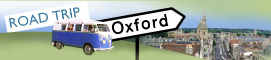 Road Trip banner for Oxford