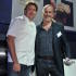 James Martin with the winner of the BBC Food Champion, Richard Bertinet