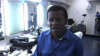 Stephen K Amos in Studio