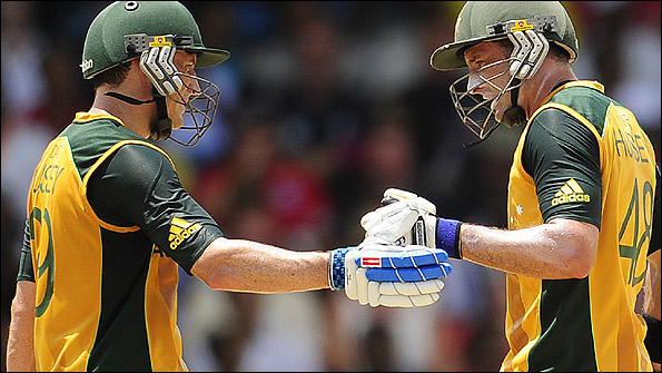 David and Mike Hussey were always trying to outdo one another