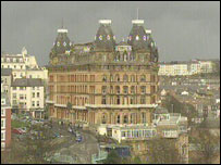 The Grand Hotel in Scarborough