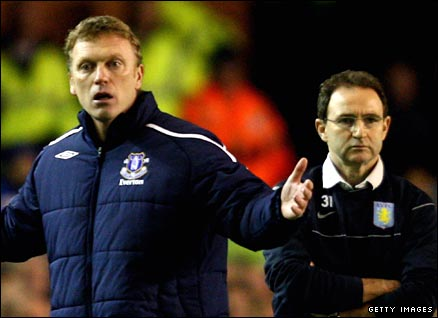 David Moyes and Martin O'Neill