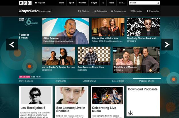 BBC - BBC Internet Blog: Introducing BBC iPlayer Radio