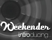 Weekender Introducing logo