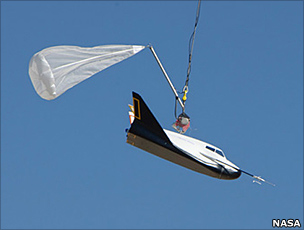 Dream Chaser drop test