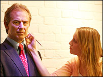 Tony Blair's waxwork dummy