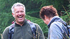 Derek laughing during the Blaencwm walk