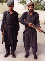 Two Pakistani soldiers