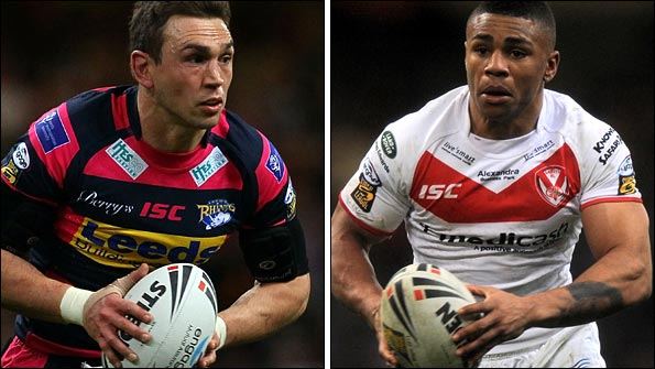 Kevin Sinfield and Kyle Eastmond