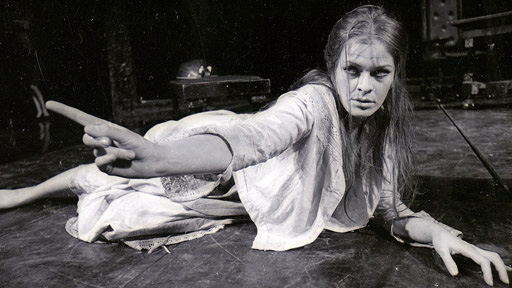 Glenda Jackson as Ophelia