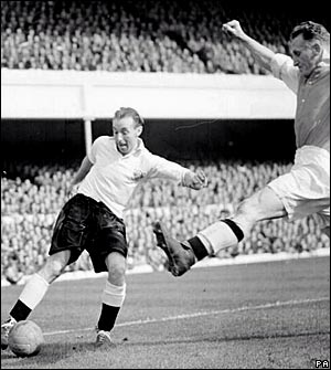 Stanley Matthews, Blackpool vs Arsenal