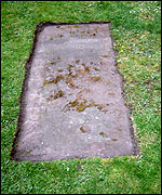 The grave of George Africanus