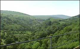 View from Meldon Viaduct