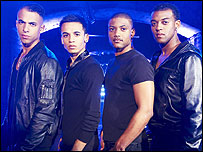 JLS from the X Factor