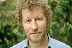 Author Sebastian Faulks. Photographed by Muir Vidler.