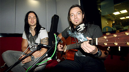 Bbc wales music bullet for my valentine in the live lounge bfmv live lounge446g voltagebd Image collections