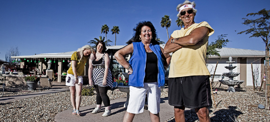 Are You Fitter Than a Pensioner? (Judy Lockhart, Louise Crossland, Norb and Mari Matelski)