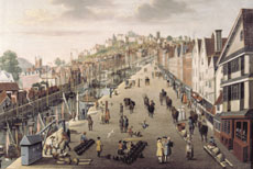 Broad Quay, attributed to Philip Vandyke, c. 1760