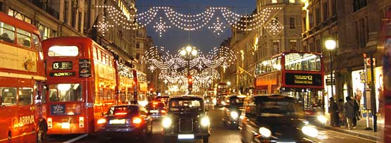 London At Christmas Time.Bbc World Service Learning English Entertainment