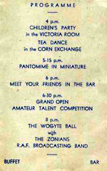 Bbc Ww2 People S War Nancy Childs Annual Party Invitation 1945